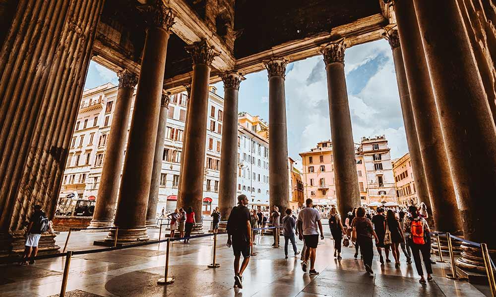 que visitar en Roma viaje de negocios