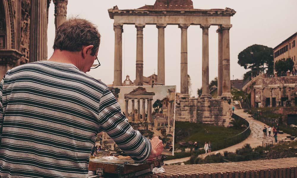 turismo con amigos que visitar en Roma